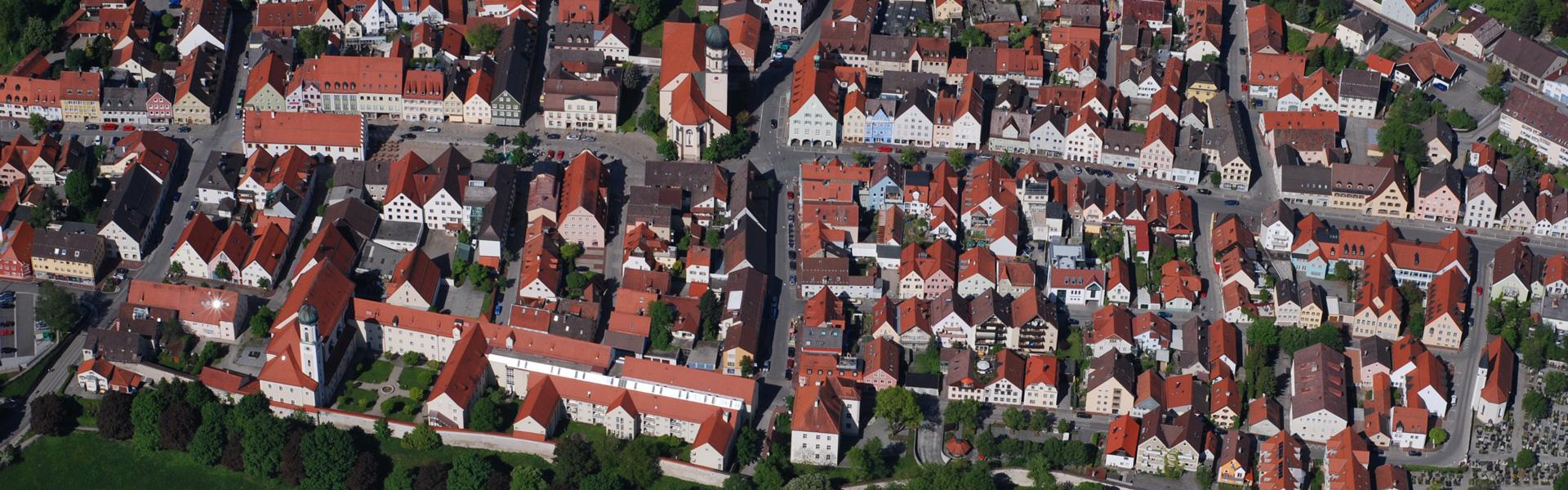 Schongau von oben
